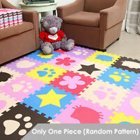 Interlocking Soft EVA Foam Play Mat Pad Patterned Baby Kids Crawling Puzzle Game