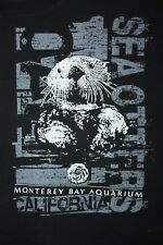 Monterey Bay Aquarium California Sea Otter T-Shirt Large