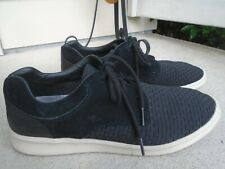 Mens UGG leather/woven lace up casual sneakers sz 11