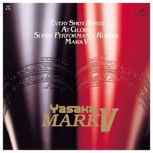 YASAKA Table Tennis Rubber MARK V B-10 Red Maximum