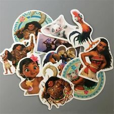 Lot of 10 Girls Moana Stickers Decals - loot bag diary school party luggage