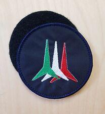 Patch Toppa RICAMO Aeronautica Militare - Frecce Tricolori - diam.8,5 con VELCRO