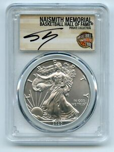 2020 (P) $1 Silver Eagle Emergency Issue PCGS MS70 Shaquille O'Neal