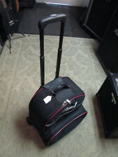 """PEARL Snare Drum kit stand & """"backpack"""" style case on wheels. EXC pre-owned"""