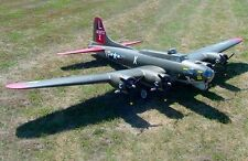 B-17 Flying Fortress 125 in (environ 317.50 cm) WS Scratch Build r/c Avion Plans & Patterns