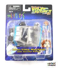 Back to the Future II Minimates Phasing Hover Time Machine & Jennifer Parker