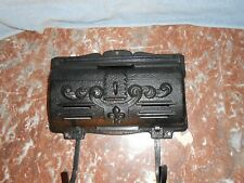 Vintage Wall Mount House Mail Box W/ News Paper Holder Remington Hardware Co N.Y