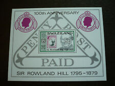 Stamps - Swaziland- Scott# 332 - Souvenir Sheet