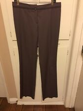 Salvatore Ferragamo Italy Work Dress Suit Pants Slacks Trouser Womens Sz 42 EUC