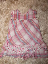 Karierte Topolino Baby-Kleider