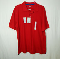 NWT Croft & Barrow Short Sleeve Polo Golf Shirt Easy Care Large L Mens Clothing
