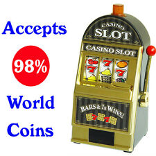 Brand New Casino Slot Machine Jackpot Saving Bank Box Model 240