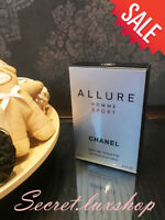 CHANEL Allure Homme Sport Eau De Toilette 100 MI   3.5 FL 100% authentic SALE