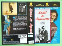 Solo Copertina Fascetta LADRI DI SAPONETTE maurizio nichetti no vhs dvd lp cd mc