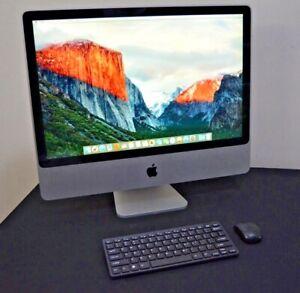 """UPGRADED Apple iMac 24"""" Desktop - WARRANTY - Mac OS - 320GB - Keyboard & Mouse"""