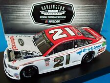 Paul Menard 2018 Motorcraft Darlington #21 Wood Brothers Ford 1/24 NASCAR Rare