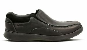 Men's Clarks Cotrell step oily finish loafers brown and black 5 sizes New in Box