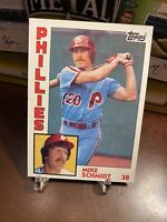 1984 Topps Mike Schmidt Philadelphia Phillies #700