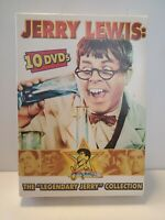 The Legendary JERRY LEWIS Collection 10 Disc DVD Box Set RARE Comedy Classic