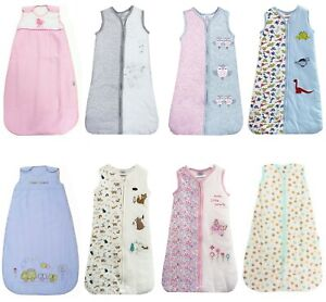 Baby Girl Boy Sleeping Bags Pink Blue White Grey 2.5 Togs Newborn - 10 Years