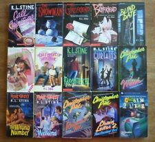 Lot 15 CHRISTOPHER PIKE/RL STINE Young Adult HORROR Fiction Paperback VERY GOOD!