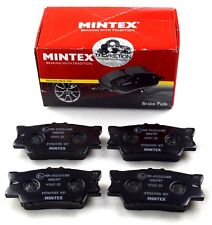 MINTEX REAR AXLE BRAKE PADS FOR LEXUS TOYOTA MDB2787 (REAL IMAGE OF PART)