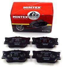 Mintex Pastillas De Freno Eje Trasero para Lexus Toyota MDB2787 (imagen real de parte)