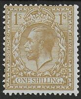 SG429. 1s.Bistre-Brown(Block Cypher) Fresh MM With Good Colour-Cat.£40. Ref:0/45