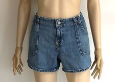 GAP Mid Blue Denim Shorts 'Kelly Short' US 6 W32""