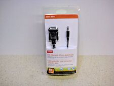 Staples VGA Video with 3.5 mm Audio Cable 10 Feet  # 21026 New in Package