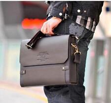 Men leather bag briefcare high quality mens business handbags shoulder work bag