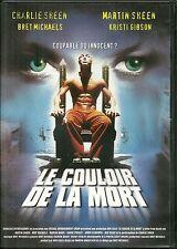 DVD - LE COULOIR DE LA MORT avec CHARLIE ET MARTIN SHEEN, BRET MICHAELS