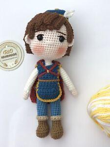 Amigurumi Phillip Doll,Crochet Phillip doll,handmade dolls,handmade Phill doll
