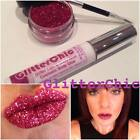 Purpurina para Labios 'Rosa' Pintalabios Suelto por glitterchic, Extra Glamour,