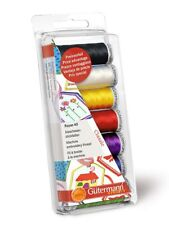 Gutermann 100 Percent Viscose Rayon 40 Machine Embroidery Thread Set Classic