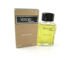 Versace L'Homme Men Eau de Toilette Splash 1.6 oz Old Original Formula - Rare