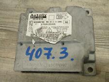 PEUGEOT 407 Airbag Dispositif de commande 9655880780 rbg-d213-cem00 (3) motard