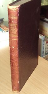 TRAVELS WITH A DONKEY by R L STEVENSON - LEATHER - FRONTIS by WALTER CRANE 1922