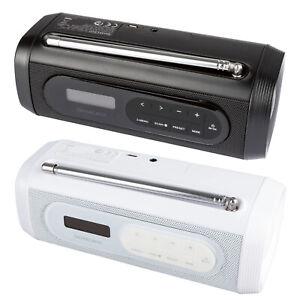 Radio DAB+ Bluetooth Lautsprecher mit Batterieanzeige digital DAB FM 6 W RMS Neu
