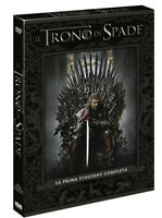 IL TRONO DI SPADE - STAGIONE 1 (5 DVD) COFANETTO PRIMA SERIE Games of Thrones