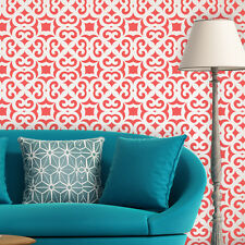Moroccan Trellis Allover Wall Stencil Liliane for DIY Modern Wall decor