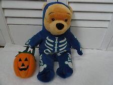 Disney Plushes  Large Skeleton Pooh 13 inches !