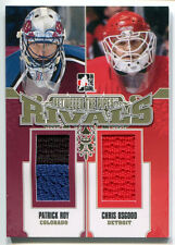 2012-13 Between the Pipes PATRICK ROY CHRIS OSGOOD Gold Rivals Dual Patch SP /10