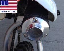 HONDA XR50 CRF50 XR70 CRF70 50 70 MUFFLER 2D POWER TIP w/ SPARK ARRESTOR SCREEN