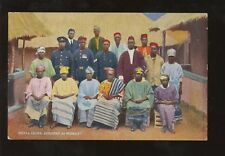 SIERRA LEONE 1925 WEMBLEY OFFICIALS GROUP + WIVES...PPC