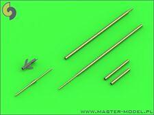 Master 48119 1/48 Metal Sukhoi Su-7 (tubos de pitot Ajustador-a) y barriles de pistola de 30mm