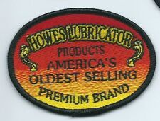 Howes Lubricator products employee patch Americas oldest selling premium brand