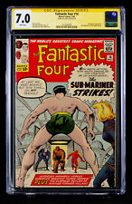 FANTASTIC FOUR #14 (1963) CGC 7.0 SS FN/VF signed by writer STAN LEE!!!  HTF!!!