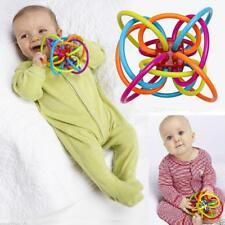 Newborn Baby Infant Hand Rattle Bell  Develop Intelligence Ball Toy For Kid Gift
