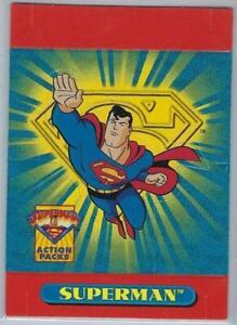 Superman Action Packs PROMO Pop-Up card #P1.